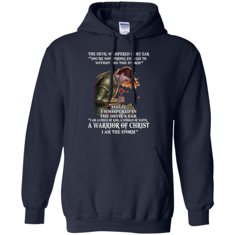 The Devil Whispered In My Ear Shirt, Hoodie, Tank