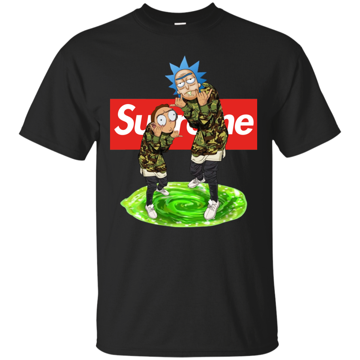 Rick And Morty Supreme Shirt, Hoodie