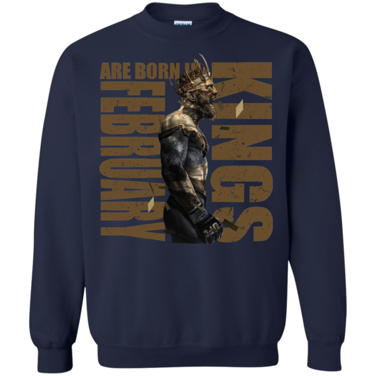 King of McGregor – Kings Are Born In February Shirt, Hoodie