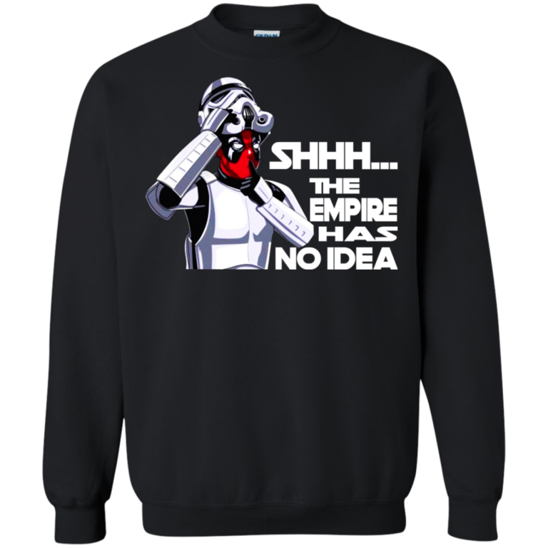 Deadpool – shhhh.. the empire have no idea t-shirt