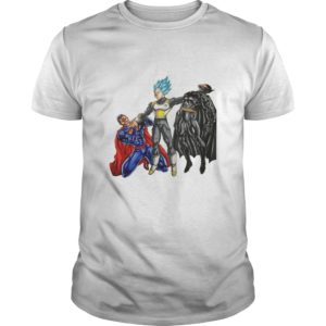 Vegeta vs Superman And Batman Shirt, Hoodie