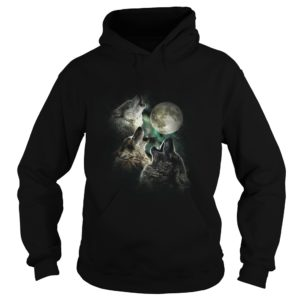 Wolves And Moon Shirt, Hoodie, Tank