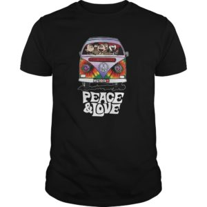 Snoopy Hippie – Peace And Love Shirt, Hoodie, Tank