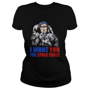 Uncle Sam – I Want You For Space Force Shirt