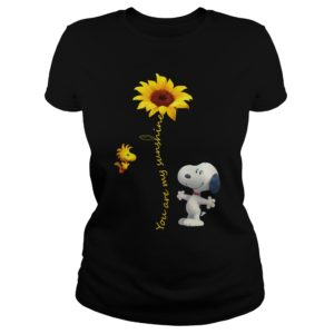 Snoopy And Sunflower - You Are My Sunshine Shirt