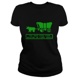 You Have Died From Walking On Csmaes Grass Shirt