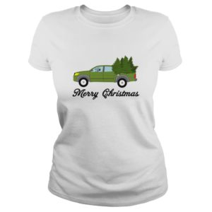 Snoopy Driving Car - Merry Christmas Shirt