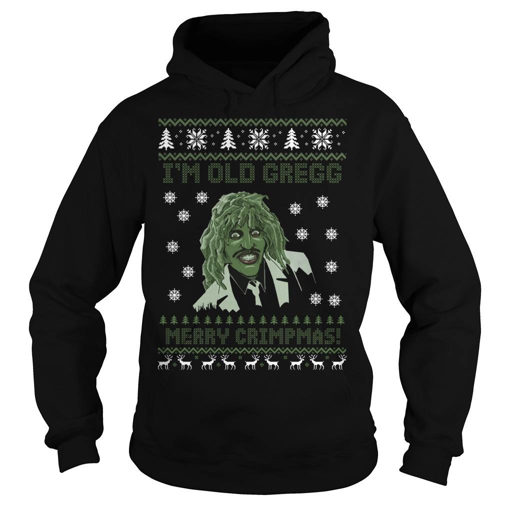 Christmas Ugly Sweater.I M Old Gregg Merry Christmas Ugly Sweater