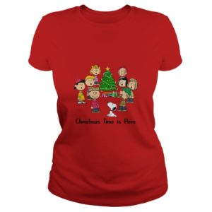 Snoopy And Friends - Christmas Time Is Here Shirt