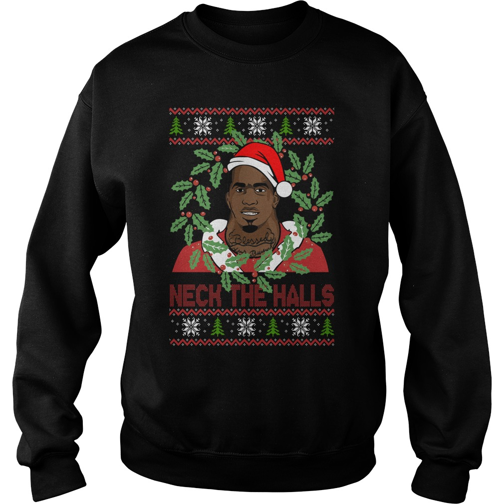 Charles Dion McDowell - Neck The Halls Christmas Sweater