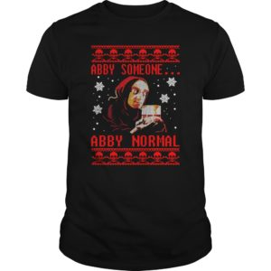 Young Frankenstein - Abby Someone Abby Normal Christmas Sweater