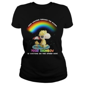 Snoopy - Keep Walking Through The Storm Shirt
