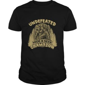 Undefeated Hide And Seek Champion Shirt, Hoodie, Tank