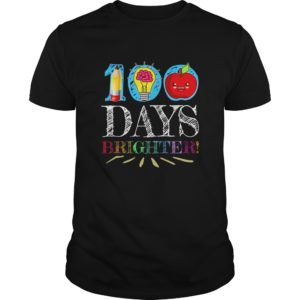 100 Days Brighter Shirt, Hoodie, Long Sleeve