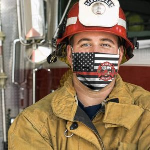 Fire Fighter Cloth Face Mask