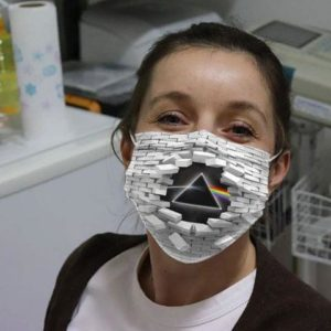 Pink Floyd Wall Broken Cloth Face Mask