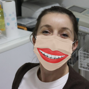 Smile Lips Cloth Face Mask