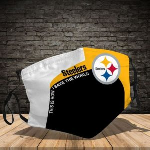 Steelers - This Is How I Save The World Cloth Face Mask
