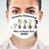 Snoopy – Grateful Distancing Stay At Home Tour 2020 Face Mask