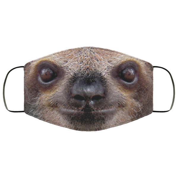 Sloth Face Face Mask