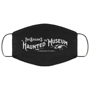 Zak Bagans' The Haunted Museum Face Mask