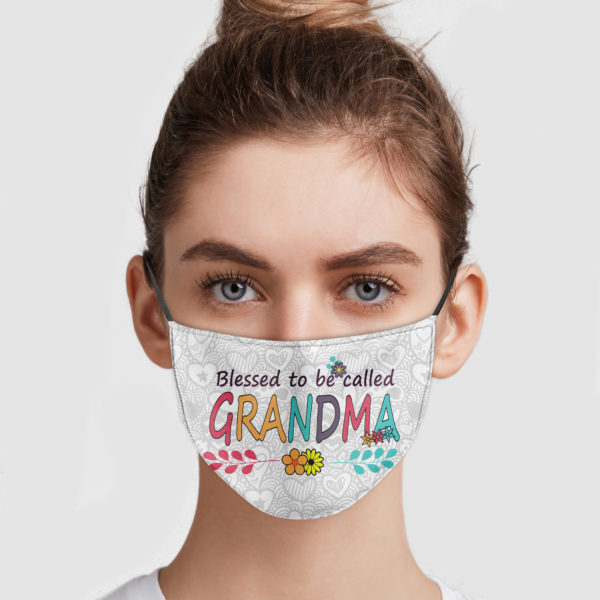 Blessed To Be Called Grandma Cloth Face Mask