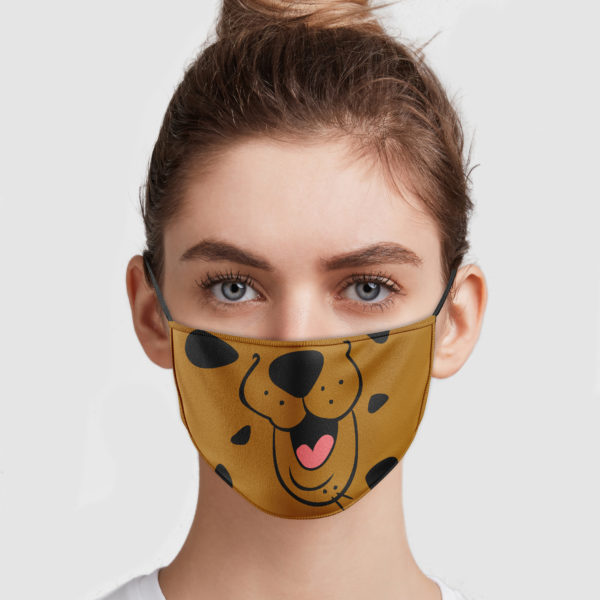 Scoobydoo Mouth Face Mask