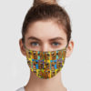 Scoopydoo Pattern Face Mask