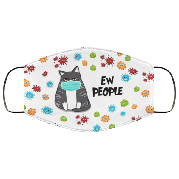 Cat Ew People Face Mask